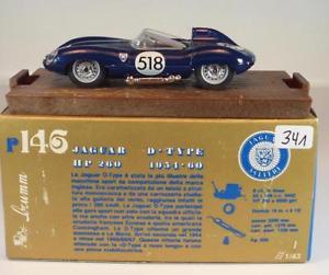 【送料無料】模型車 スポーツカー ジャガータイプミッレミリア#brumm 143 jaguar dtype mille miglia 1954 60 bnib 341