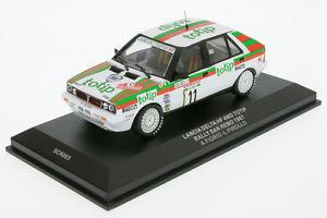【送料無料】模型車 スポーツカー 143 ixoscr 03ランチアデルタhf 4wd fioriosr 87143 ixoscr 03 lancia delta hf 4wd fiorio rally sr 87