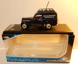 【送料無料】模型車 スポーツカー ルノーボックスsolido renault 4cv national gendarmerie 1952 143 in box 3467450043075