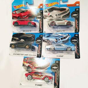【送料無料】模型車 スポーツカー ホットホイールカマロスペシャルエディションカマロ2017 hot wheels camaro fifty 5 cars setzl1, ss, special edition,67 camaro