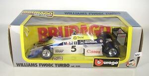 【送料無料】模型車 スポーツカー bburago 124ウィリアムズfw08cターボf1 ovp3631bburago 124 williams fw08c turbo formula 1 ovp 3631