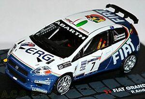 【送料無料】模型車 スポーツカー フィアットグランデs2000ラリー1000ミグリア2006 andreucci andreussi 143fiat grande punto s2000 rallye 1000 miglia 2006 andreucci andreussi 1