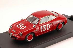 【送料無料】模型車 スポーツカー アルファロメオ#タルガフローリオモデルalfa romeo giulietta sz 130 43th targa florio 1969 bruschispataro 143 model