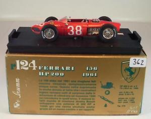 【送料無料】模型車 スポーツカー フェラーリグランプリモンツァ#brumm 143 ferrari 156 grand prix monza 1961 bnib 362