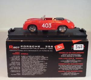 【送料無料】模型車 スポーツカー brumm 143ポルシェ356スピードミルミグリア1952bnib367brumm 143 porsche 356 speedster mille miglia 1952 bnib 367