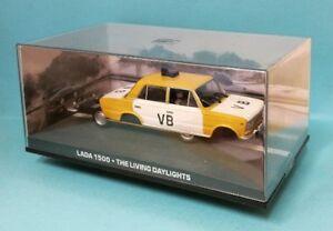 【送料無料】模型車 スポーツカー ジェームズボンドラダモデル007 james bond lada 1500 the living daylights car model rare 143