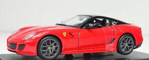 【送料無料】模型車 スポーツカー フェラーリドferrari 599 gto rojo escala 124 de bburago
