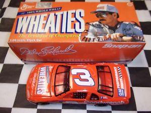 【送料無料】模型車 スポーツカー デイルアーンハートモンテカルロアクションdale earnhardt sr 3 goodwrench wheaties 1997 monte carlo action 124 nascar nib