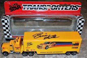 【送料無料】模型車 スポーツカー サインマッチトランスポーターコダックsigned autograph jsa cert 1991 matchbox transporters cy104 ernie irvan kodak