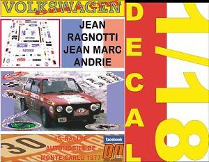 【送料無料 rally gti】模型車 スポーツカー デカールフォルクスワーゲンゴルフジーンラリーモンテカルロdecal 118 volkswagen golf gti mki 12 jean ragnotti rally montecarlo 1977 12, soup by suppe:701b05cc --- sunward.msk.ru