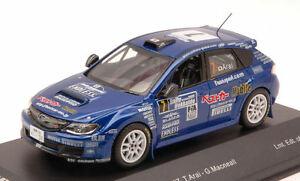 【送料無料】模型車 スポーツカー 2009macneall 143モデルスバルimpreza wrx sti7subaru impreza wrx sti 7 rally hokkaido 2009 araimacneall 143 model