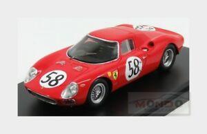 【送料無料】模型車 スポーツカー フェラーリ#ルマンリントパイパーレッドモデルferrari 275lm 58 le mans 1964 j rindt d piper red looksmart 143 lslm 079 model