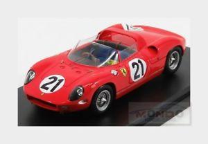 【送料無料】模型車 スポーツカー フェラーリ#ルマンferrari 250p 30l v12 21 winner le mans 1963 scarfiotti looksmart 143 lslm 063