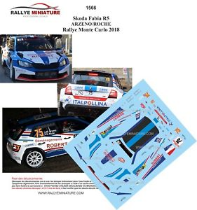 【送料無料】模型車 スポーツカー ディーキャル1181566 skoda fabia r5 arzenorallyeモンテcarlo 2018wrcdecals 118 ref 1566 skoda fabia r5 arzeno rallye monte carlo 2018