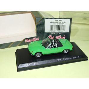 【送料無料】模型車 スポーツカー ポルシェグリーンporsche 914 4 green 1969 detailcars 342 143