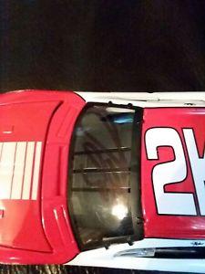 【送料無料】模型車 スポーツカー ダイカストrcrピットストップaustin dillonアクション1242002action 2002 124 diecast rcr pitstop practice car signed by austin dillon