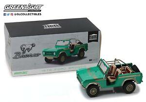 【送料無料】模型車 スポーツカー モデルフォードブロンコツインピークスmodel ford bronco twin peaks 1976 118 25cm original greenlight