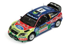 【送料無料】模型車 スポーツカー フォードフォーカスwrc3スウェーデン2010hirvonenlehtinen 143 ixo ram407モデルford focus wrc 3 winner sweden 2010 hirvonenlehtinen 143 ixo ram4