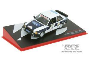 【送料無料】模型車 スポーツカー フォードエスコートラリーデラリオハアルford escort xr3 irally de la rioja 1983 servia 143 al 1983ri005e