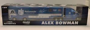 【送料無料】模型車 スポーツカー モンスターエナジーシリーズアレックス#チームホーラ2018 monster energy series alex bowman 88 nationwide 164 team hauler