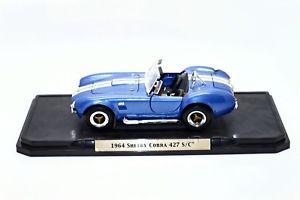 【送料無料】模型車 スポーツカー シグネチャーシェルビーコブラ118 road signature 1964 shelby cobra 427 sc