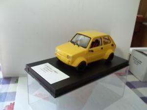 【送料無料】模型車 スポーツカー フィアットミニカーcpmodel sc124 fiat 126 minicar gr2