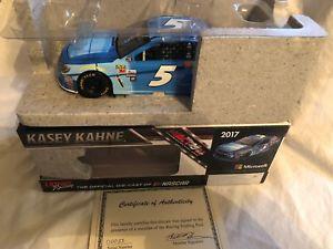 【送料無料】模型車 スポーツカー ケーシーサイン2017 kasey kahne windows 124 autographed wcoa free shipping