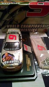 【送料無料】模型車 スポーツカー ビルゴールドバーグサイン#1999 bill goldberg autographed 9 wcw 124