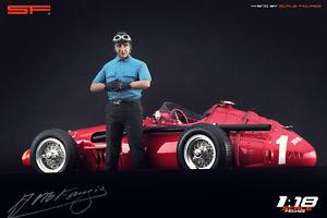 【送料無料】模型車 スポーツカー 118レーシングカードライバーcmcexotoフアンmファンヒオ118 race car drivers figure juan m fangio of scale figures for cmc autoart exoto