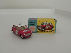 【送料無料】模型車 スポーツカー コーギーミニクーパーモンテカルロcorgi toys 317 mini cooper monte carlo mib