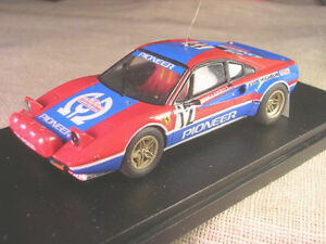 【送料無料】模型車 スポーツカー フェラーリパイオニアツールドコルスレースferrari 308 gtb gr4 pioneer tour de corse 1982 andruet racing 43 143