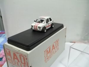 【送料無料】模型車 スポーツカー モデルsc143126レースcellaracascione2007mad models sc143 fiat 126 race uphill cellara mount cascione 2007