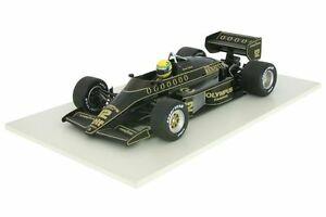 【送料無料】模型車 スポーツカー ロータスルノーアイルトンシーズンlotus renault 97tayrton sennaformula 1 season 1985 118 mc 540851812