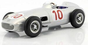 【送料無料】模型車 スポーツカー メルセデスベンツwフォーミュラベルギーiscale 118 mercedesbenz w196 10 formula 1 jm fangio winner belgium gp 1955