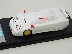 【送料無料】模型車 スポーツカー モデルブガッティバージョンchestnut models 143 bugatti eb 110 2me version wind tunnel 1990