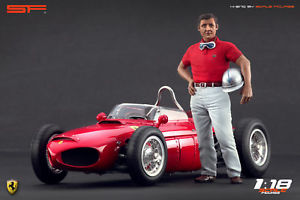 【送料無料】模型車 スポーツカー レースカードライバースケール118 race car drivers figure graf berghe v trips of scale figures for cmc autoart exoto