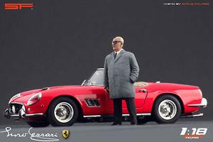 【送料無料】模型車 スポーツカー cmcexoto118デザイナーenzo ferrari118 designer figure enzo ferrari scale figures for cmc autoart exoto