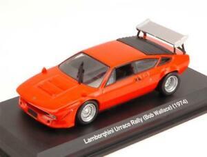 【送料無料】模型車 スポーツカー ランボルギーニラリーボブウォレスオレンジモデルlamborghini urraco rally bob wallace 1974 orange 143 whitebox wb502 model