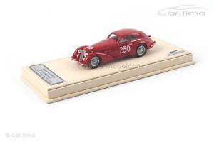 【送料無料】模型車 スポーツカー アルファロメオミッレミリアモデルalfa romeo 8c 2900b loungowinner mille miglia 1947tsm model 143