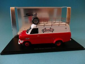 【送料無料】模型車 スポーツカー フォードトランジットファイアストンサポートスパークford transit mkifirestone f1 assistance 1972 support 143 spark s0275