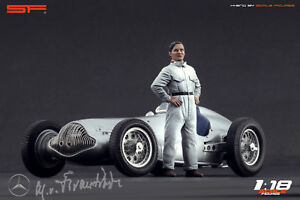 【送料無料】模型車 スポーツカー レースカードライバースケール118 race car drivers figure manfred v brauchitsch scale figures for cmc autoart exoto