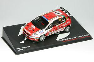 【送料無料】模型車 スポーツカー フィアットアバルトグランデプントラリーポルトガルアル143 fiat abarth grande punto s2000fontes rallye portugal 2008 al 2008p11