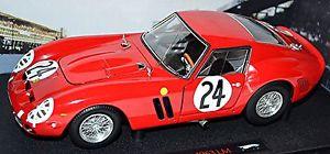 【送料無料】模型車 スポーツカー フェラーリルマン#レッドエリートferrari 250 gto le mans 1963 24 red 118 elite hotwheels