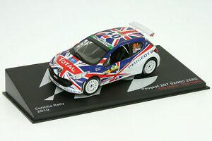 【送料無料】模型車 スポーツカー プジョーラリーブラジルアル143 peugeot 207 s2000meeke rally brazil 2010al 2010br01l30