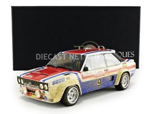 【送料無料】模型車 スポーツカー トップマルケスフィアットアバルトサンレモトップtop marques collectibles 118 fiat 131 abarthwinner san remo 1977top43