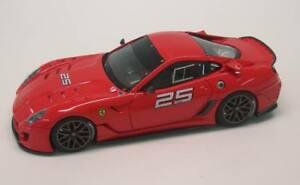 【送料無料】模型車 スポーツカー フェラーリ#レッドスクーデリアモデルferrari 599xx versione clienti 25 2009 red scuderia looksmart 143 ls368n model