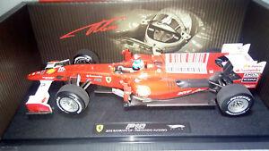 【送料無料】模型車 スポーツカー フェラーリフェルナンドアロンソエリート118 modified ferrari f1 f10 2010 fernando alonsoelite 3l050 hw