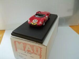 【送料無料】模型車 スポーツカー モデルフェラーリセブリングチームmad model sc143 ferrari 275p 12 sebring 1965 team hugus