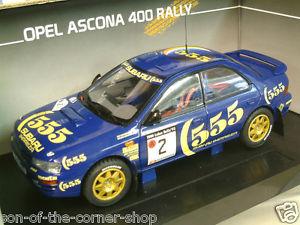 【送料無料】模型車 スポーツカー sun star 118スバルimpreza5552 1000 laghi1993produzione5501sun star 118 subaru impreza 555 2 1000 laghi rally 1993 preproduzio