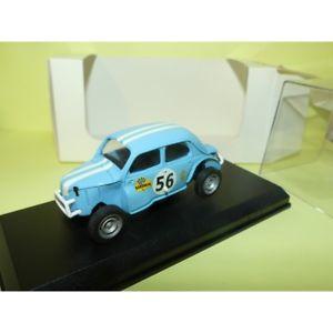 【送料無料】模型車 スポーツカー ルノー4cv0667m 14356クロス1971キットミニrenault 4cv n 56 auto cross 1971 kit mini racing 0667 m 143